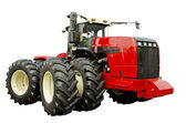 Powerful agricultural tractor — Stock Photo
