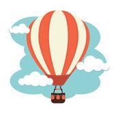 Ballon à air chaud — Vecteur