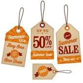 Vintage Retail Labels — Stock vektor