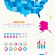 United States of America Infographic — Stock Vector #42797807