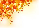 Herbstszenen hintergrund — Stockvektor