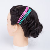 Hairpins on hairpiece — Stock Photo
