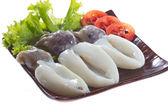 Fresh Squid — Stock Photo