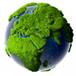 Green Planet Earth — Stock Photo #12506142
