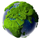 Green Planet Earth — Stock Photo
