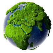 Terre de planète verte — Photo
