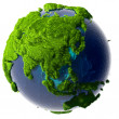 Royalty-Free Stock Photo: Green Planet Earth