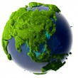 Stock Photo: Green Planet Earth