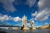 The famous Tower Bridge in London, UK — Stock Photo