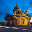 St. Isaac's Cathedral on a white night — Stock Photo
