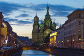 Church of the Savior on Spilled Blood. St. Petersburg, Russia — ストック写真