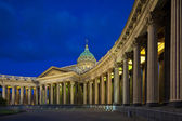Kazan Cathedral in St. Petersburg's White Nights — Stock Photo