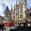 Stock Photo: Royal Courts of Justice. Strand, London, UK