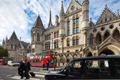 Royal Courts of Justice. Strand, London, UK — Stock Photo