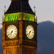 Big Ben. Detail. Evening — Stock Photo