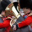 Stock Photo: Trumpeters of the Royal Guard