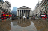 The Royal Stock Exchange, London, England, UK — Stock Photo