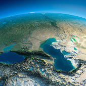 Detailed Earth. Caucasus — Stock Photo