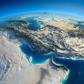 Detailed Earth. Persian Gulf — Stock Photo