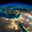 Night Earth. Africa and Middle East — Stock Photo #42300567