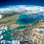 Fragments of the planet Earth. Turkey. Sea of Marmara — Stock Photo #43434815