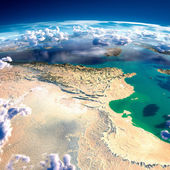 Fragments of the planet Earth. Tunisia — Stock Photo