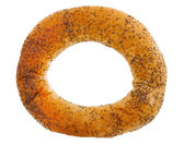 Ring bread (bagel) isolated — Stock Photo