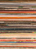 Background of old vinyl covers — Stock Photo