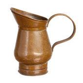 Tin pitcher — Stock Photo