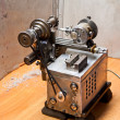 Self made lathe — Stock Photo
