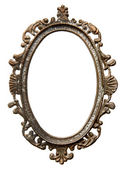 Vintage oval frame — Stock Photo