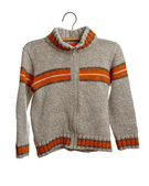 Sweater on hanger — Stock Photo
