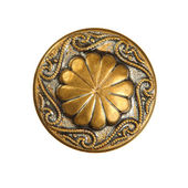 Old decorative button — 图库照片