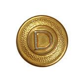 Old decorative button — Stock Photo