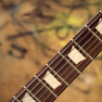 Guitar fingerboard — Stock Photo #3347731