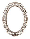 Oval ornate frame — Stock Photo