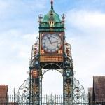 Постер, плакат: Eastgate clock Chester UK
