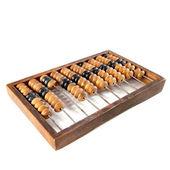 Gamla trä abacus — Stockfoto