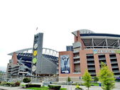 Century Link Field stadium. Home of Seattle Seahawks and Seattle Sounders — Stock Photo