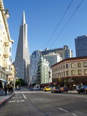 Transamerica bank building, San Francisco — Stock Photo
