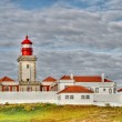 Lighthouse in Portugal, at Cabo dRoca — Stock Photo #14439135