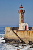 Lighthouse of Porto (Portugal) — Foto Stock