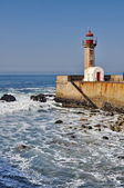 Lighthouse of Porto (Portugal) — Stock Photo