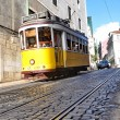 The famous line 28 tram in Lisbon, Portugal — Stock Photo #15837679