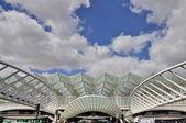 Gare do Oriente railway station in Lisbon, Portugal — Stock Photo