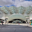 Gare do Oriente railway station in Lisbon — Stock Photo #16215585