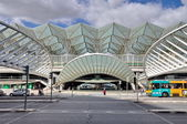 Gare do Oriente railway station in Lisbon — Stock Photo