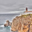 Stock Photo: Lighthouse of Sagres, Portugal in HDR