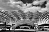 Gare de Oriente railway station, Lisbon, Portugal — Stock Photo