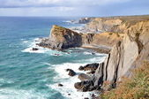 Rocky coast of Portugal — Foto Stock